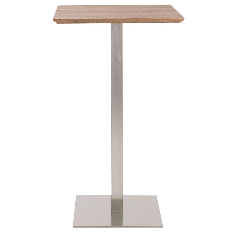 Ethan Contemporary Walnut Bar Table