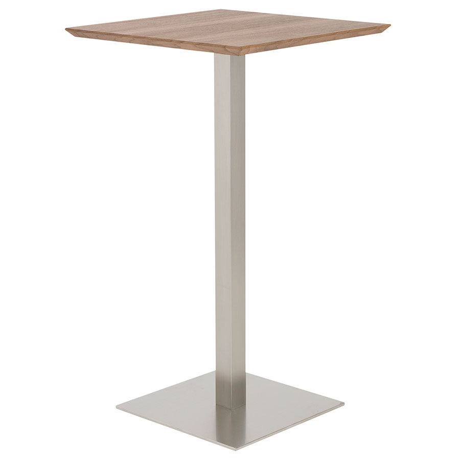 Ethan Modern Walnut Bar Table