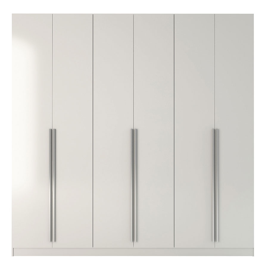 Europe White Modern Armoire Wardrobe Eurway Modern