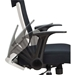Everest Modern Mid-Back Mesh Office Chair - Arm Detail
