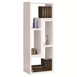 Evo Vertical + Horizontal Shelving Unit in White