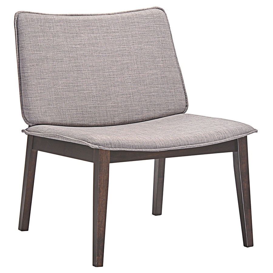 Evolve Gray Lounge Chair