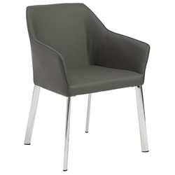 Exeter Modern Gray Arm Chair
