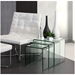 Expedition Modern Glass Nesting Table Set