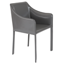 Eysen Anthracite Modern Arm Chair