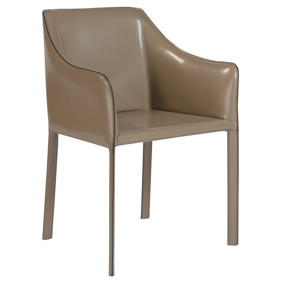 Call To Order · Eysen Taupe Modern Arm Chair