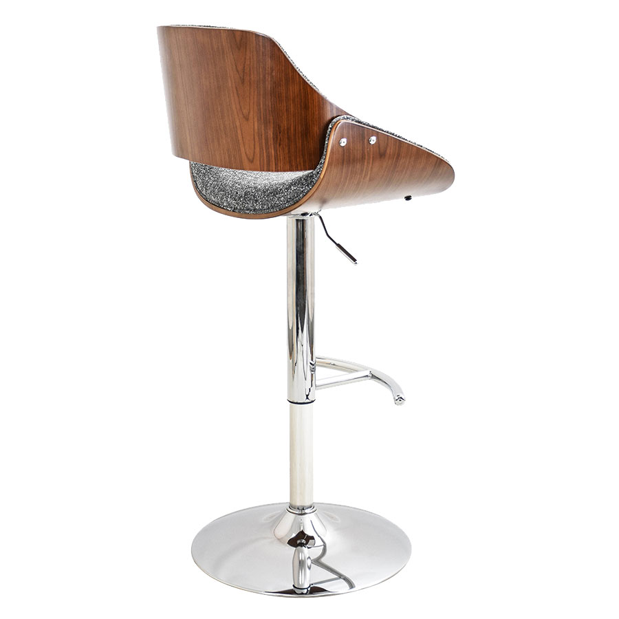 Modern Stools Fabien Gray Adjustable Stool Eurway