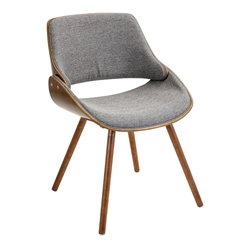 Fabien Gray Modern Side Chair