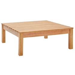 Fairfax Modern Outdoor Karri Wood Coffee Table