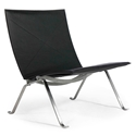 Fallon Classic Modern Leather Chair