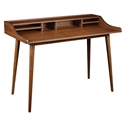Farrah Modern Walnut Desk