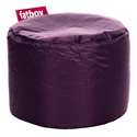 Fatboy Point Dark Purple Modern Ottoman + Stool
