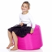 Fatboy Point Pink Contemporary Ottoman + Stool