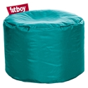 Fatboy Point Turquoise Modern Ottoman + Stool