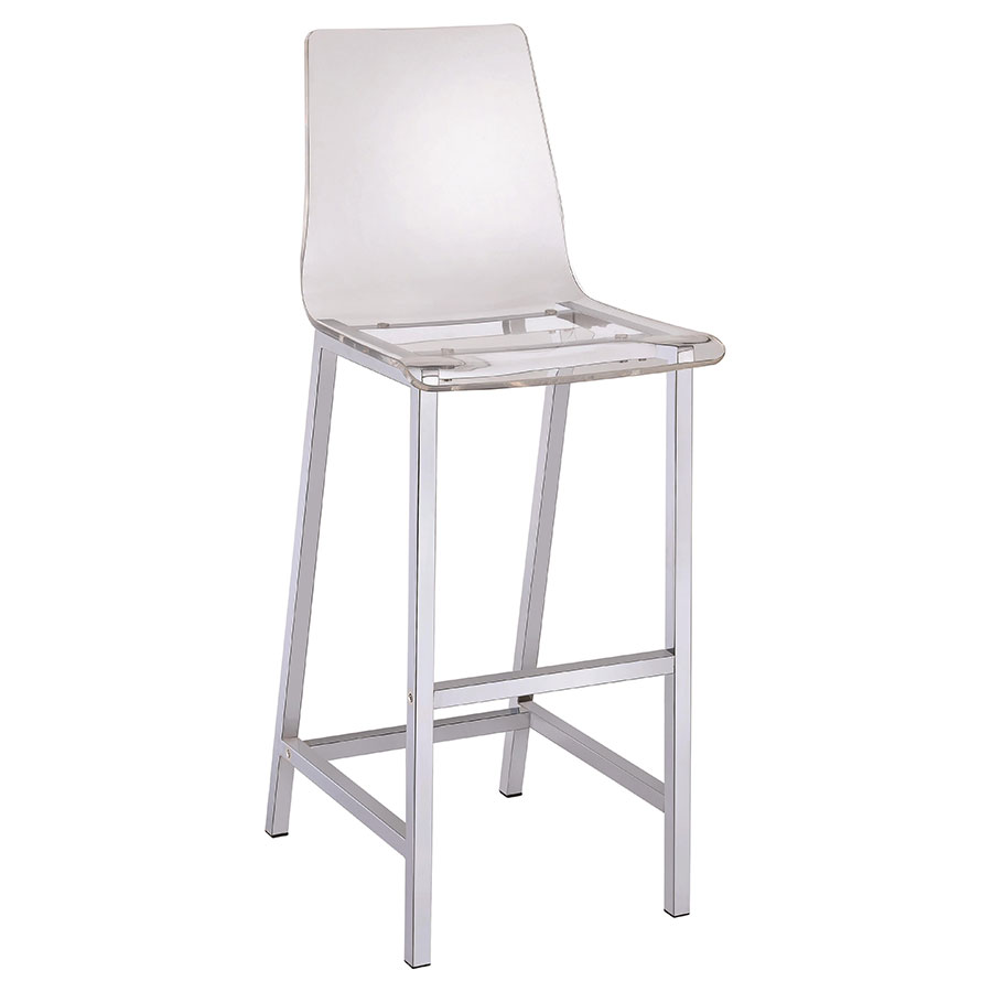 Ferguson Modern Clear Bar Stool