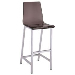 Ferguson Modern Smoked Bar Stool