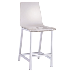 Ferguson Modern Clear Counter Stool