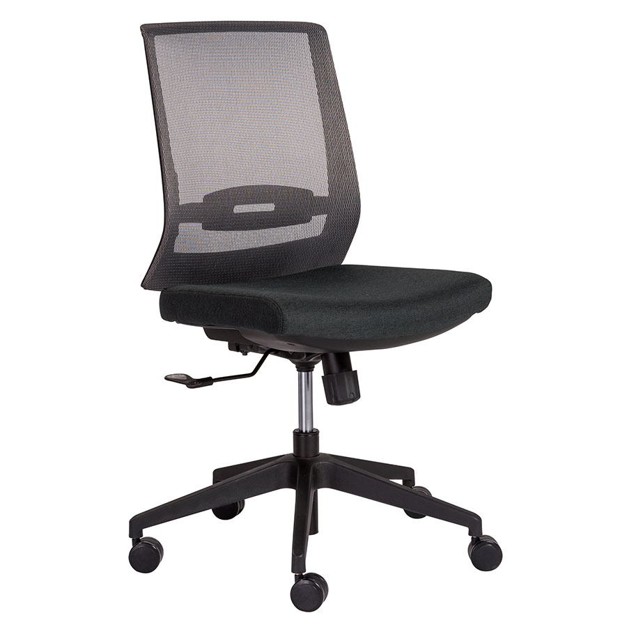modern task chair. Call To Order · Ferris Gray Mesh Back + Black Fabric Seat Modern Office Task Chair N
