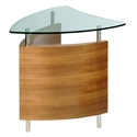 Fin Contemporary End Table by BDI