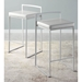 Finland Contemporary Stackable White Counter Stools
