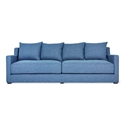 Gus* Modern Flipside Sofabed in Chelsea Pacific Fabric Upholstery