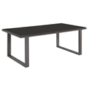 Fontana Brown Modern Outdoor Cofee Table