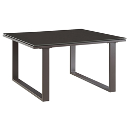 Fontana Brown Modern Outdoor Side Table