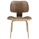Plywood Walnut Modern Dining Chair