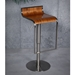Franklin Modern Adjustable Stool in Walnut