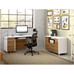 Format Walnut + White Modern Office Set by BDI