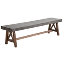 Fox Outdoor Modern Bench
