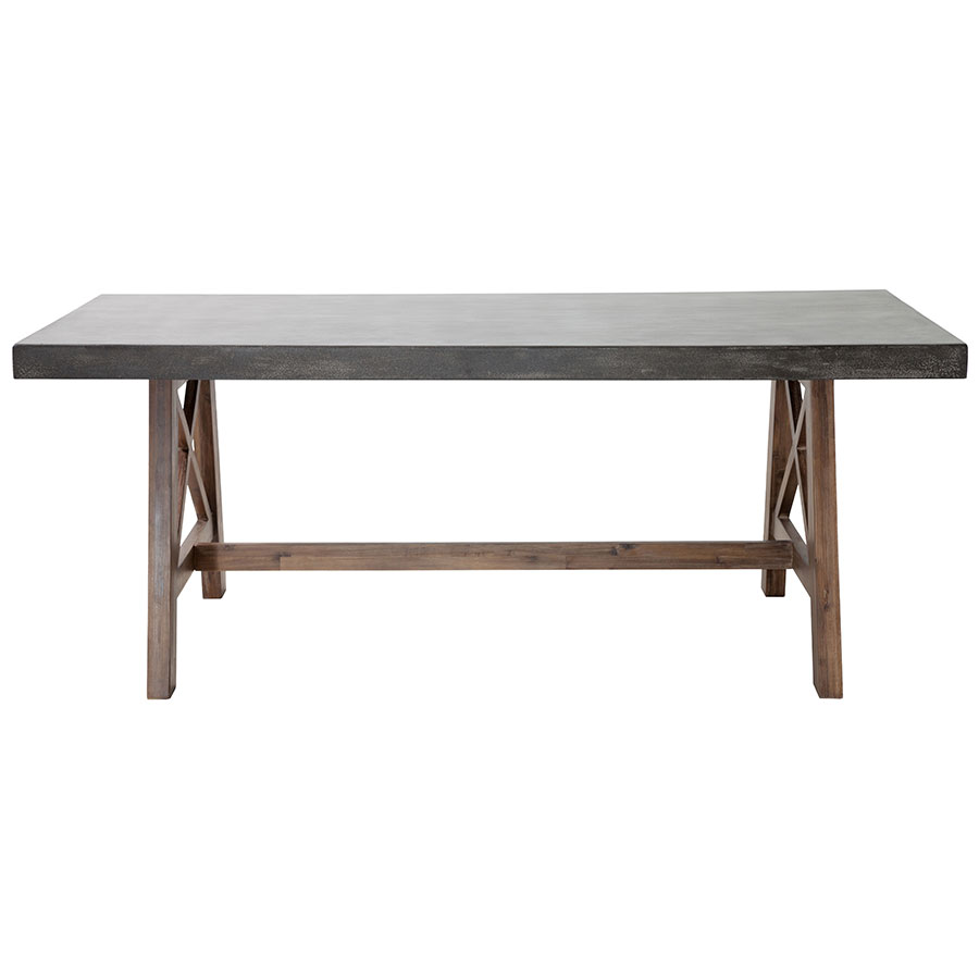 Fox Contemporary Outdoor Dining Table