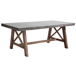 Fox Modern Outdoor Dining Table