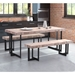 Frankfurt Modern Dining Benches & Table