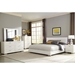 Fredrika Contemporary Bedroom Collection w/ Lighted Headboard