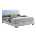 Fredrika Modern Bed w/ Lighted Headboard