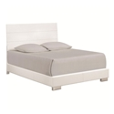 Fredrika Modern White Bed