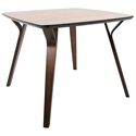 Fribourg Modern Walnut Dining Table