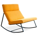 GT Rocker Contemporary Lounge Chair in Laurentian Citrine by Gus* Modern