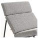 GT Rocker Modern Lounge Chair by Gus Modern in Varsity Charcoal