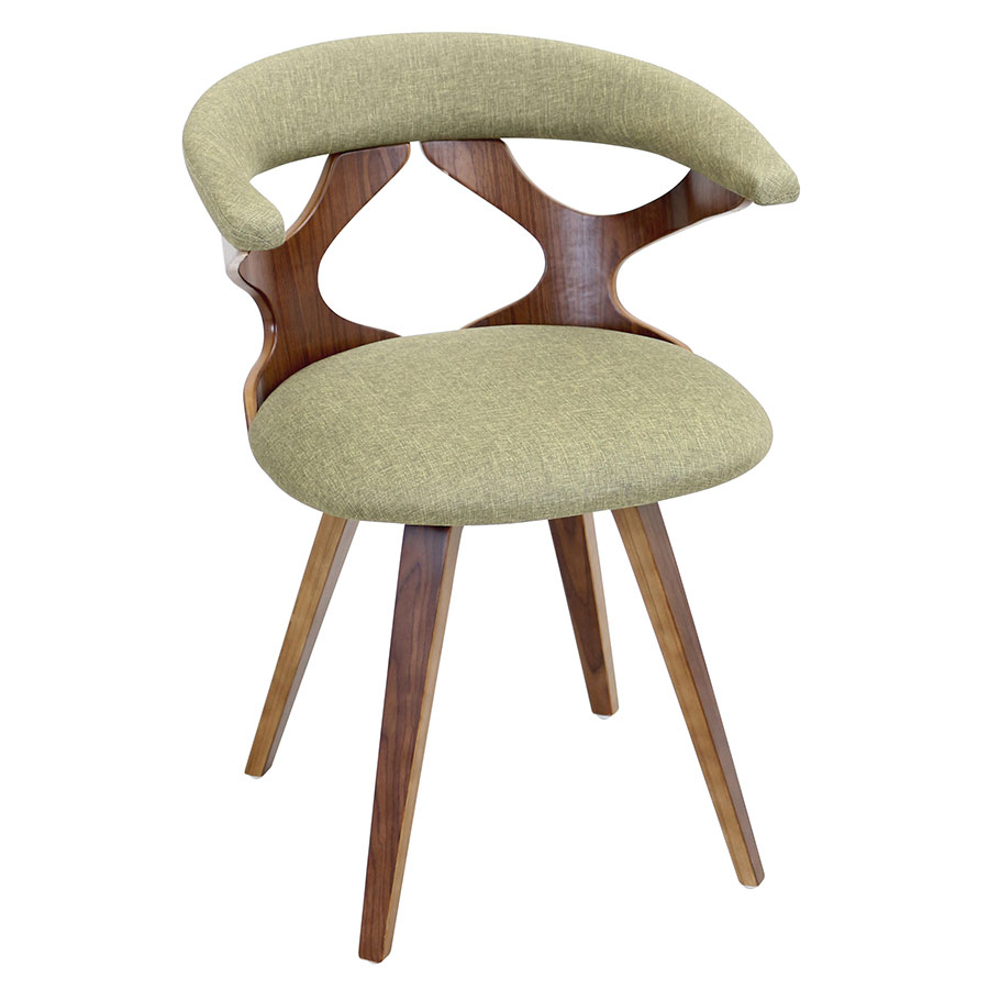 Gad Green Modern Dining Chair