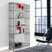 Galvano Contemporary Stainless Steel Book Shelf
