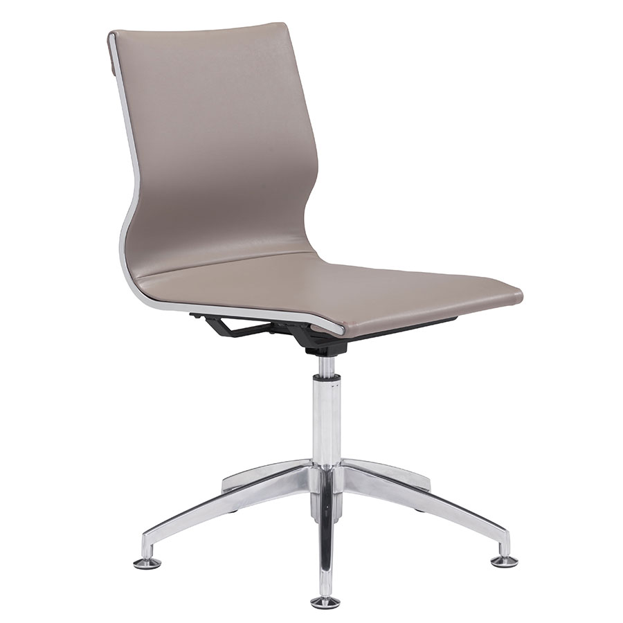 Gamila Taupe Modern Conference Chair
