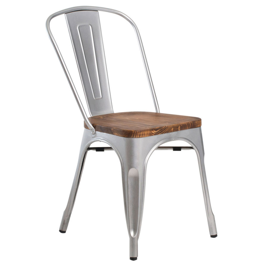 call to order · gavin industrial rustic modern silver dining chair. modern dining chairs  gavin dining chair  eurway