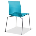 Gel-b Modern Blue Dining Chair by Domitalia