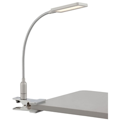 Gemma LED Modern Clip On Lamp