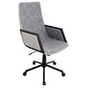 Genesis Modern Executive Office Chair in Black