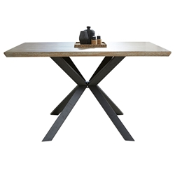 Unique Furniture Geneva Modern Counter Height Table