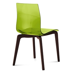 Geoffrey Side Chair | Green | Set of 2