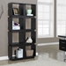 George Contemporary Cappuccino Bookcase